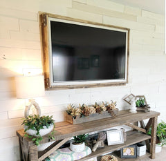 Reclaimed Farmhouse White Barnwood