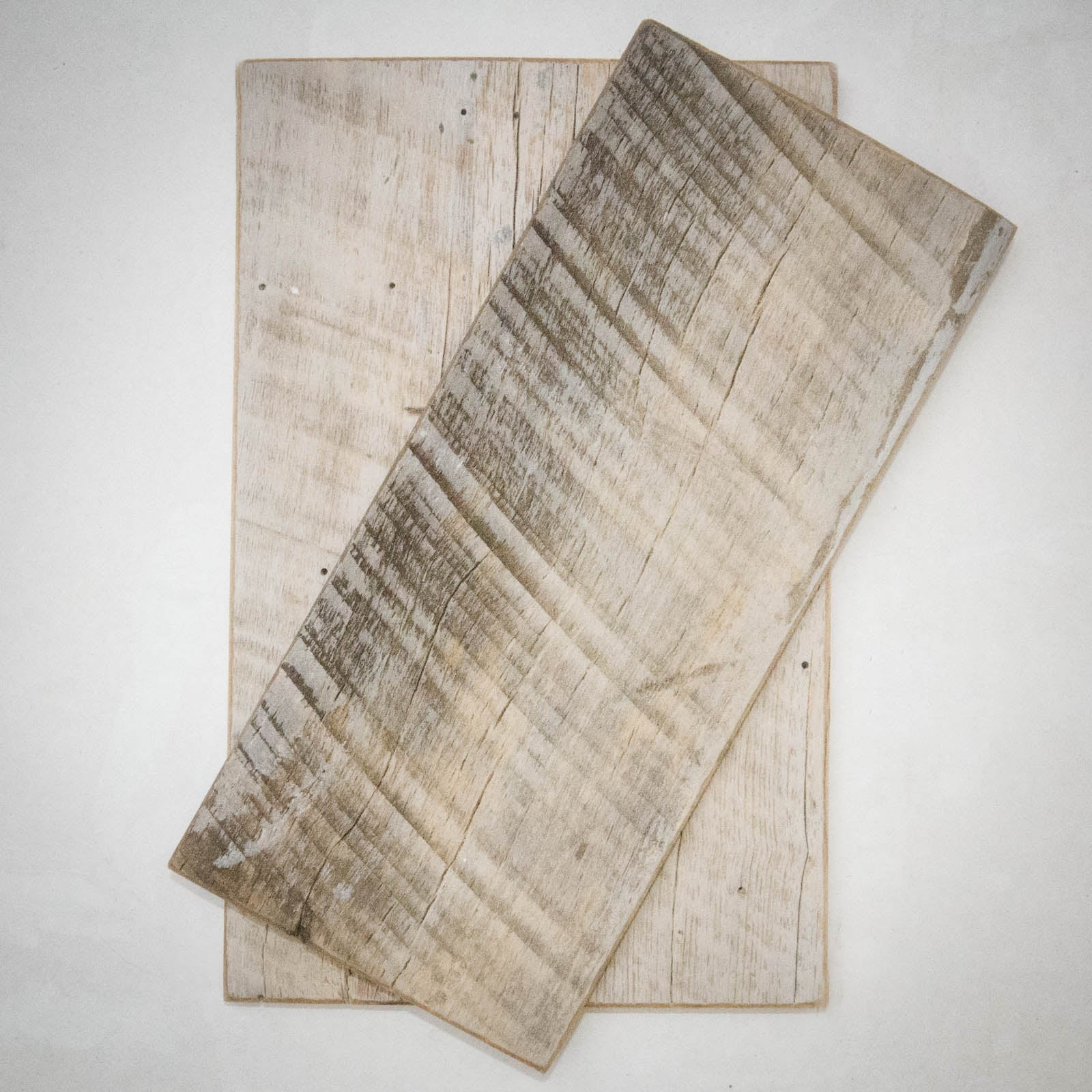Reclaimed Whitewash Barnwood Sample