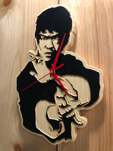 Load image into Gallery viewer, Bruce Lee Clock