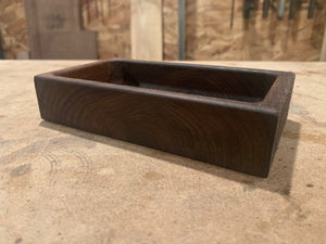 Walnut Valet Tray With Cargo Stamp