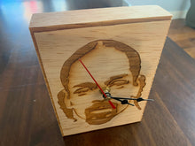 Load image into Gallery viewer, Snoop Dogg Engraved Wood Desk or Shelf Clock