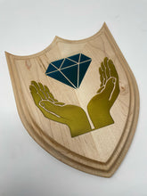 Load image into Gallery viewer, DIAMOND HANDS PLAQUE