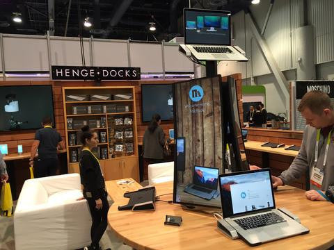 Henge Docks Exhibits at International CES for the Fifth Time!