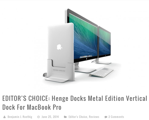 Vertical Retina Dock Review Round-up