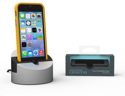 iPhone 5/5s Case Compatible Insert for Gravitas Dock Now