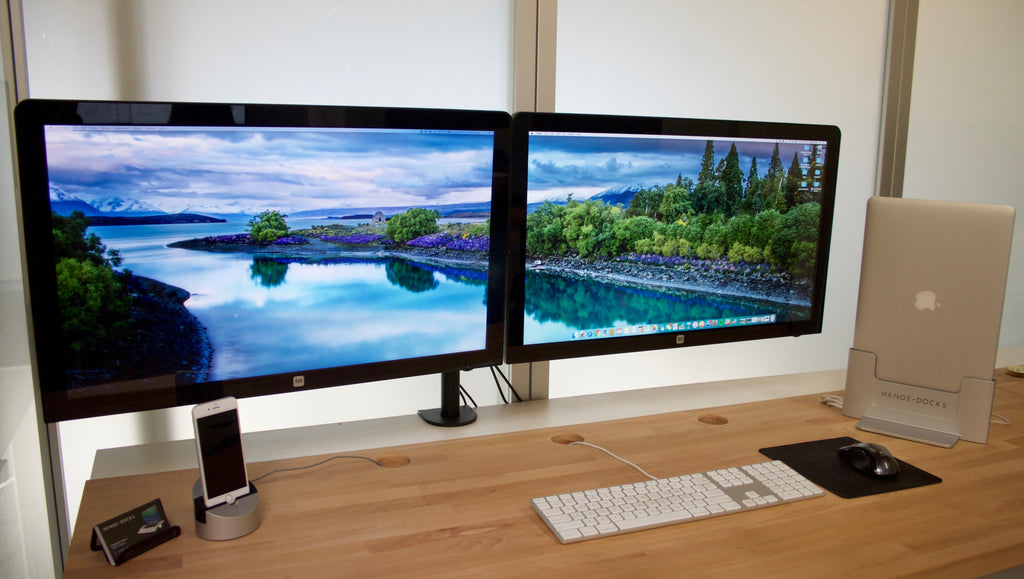 How to Setup Dual Monitor Wallpaper – Henge Docks
