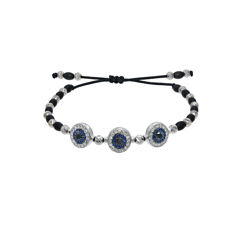 Triple Eye Ceramic Bracelet