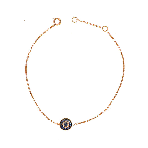 Round Shaped Eye Bracelet