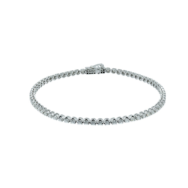 White Diamond Riviera Bracelet