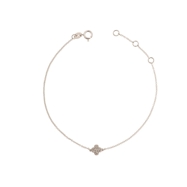 Mini 4 Leaf Clover Bracelet