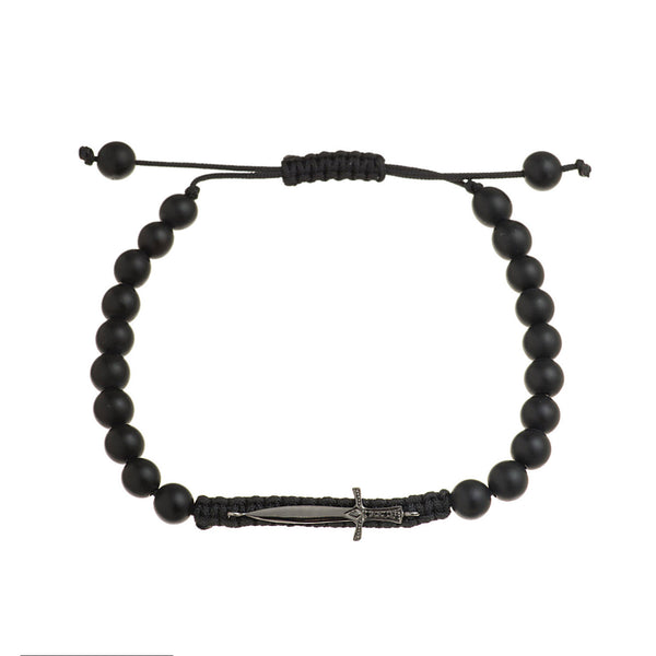 Mighty Sword Onyx Bracelet