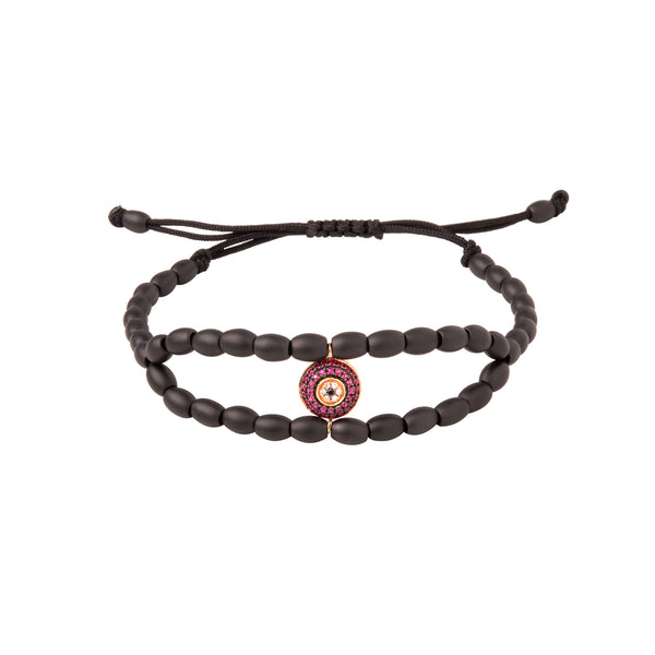 Ruby Eye Ceramic Bracelet