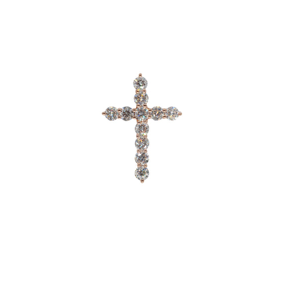 Gold And Diamond Cross