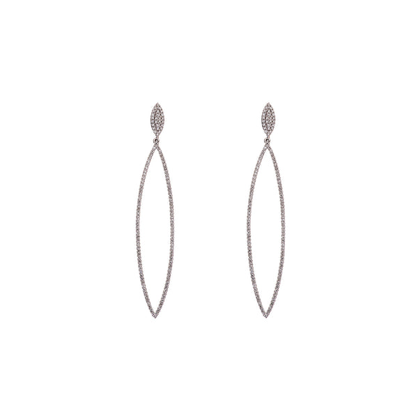Pointy Diamond Earring