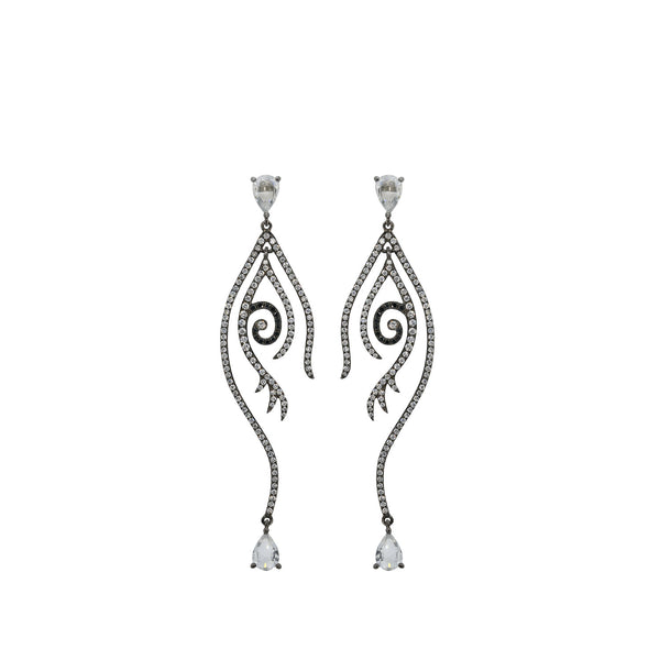 Tattoo Diamond Earring