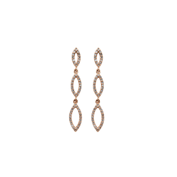 Curvy Droplets Earring