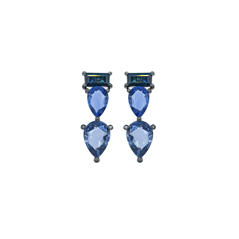 Shades of Blue Earring
