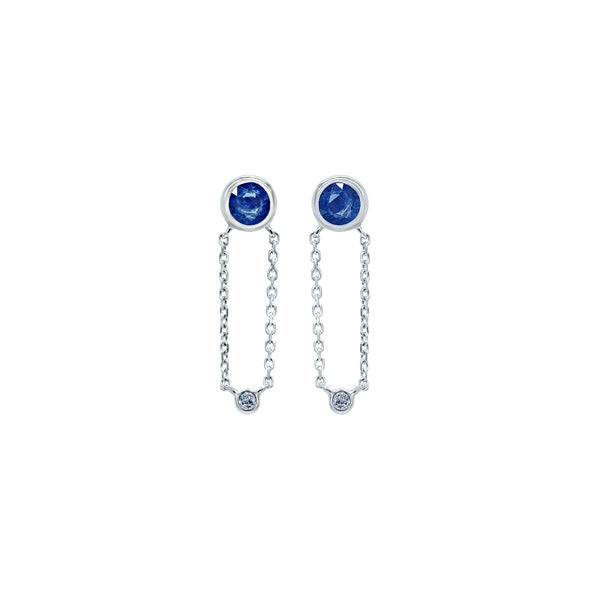 Blue Sunset Earring