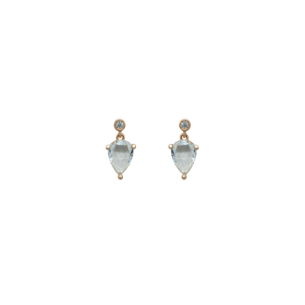 Diamond and Sapphire Earring