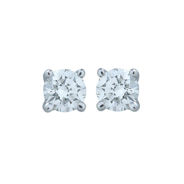 0,13CT, G, VVS2 Diamond Stud Earring