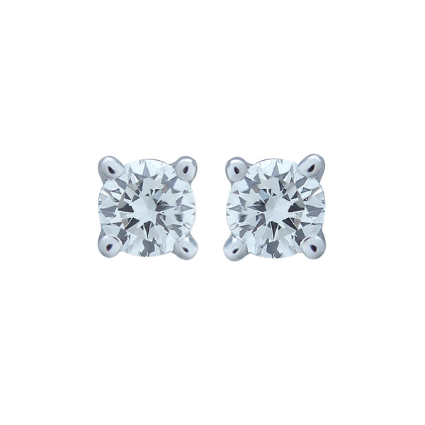 0,16CT. G, VVS2 Diamond Stud Earring