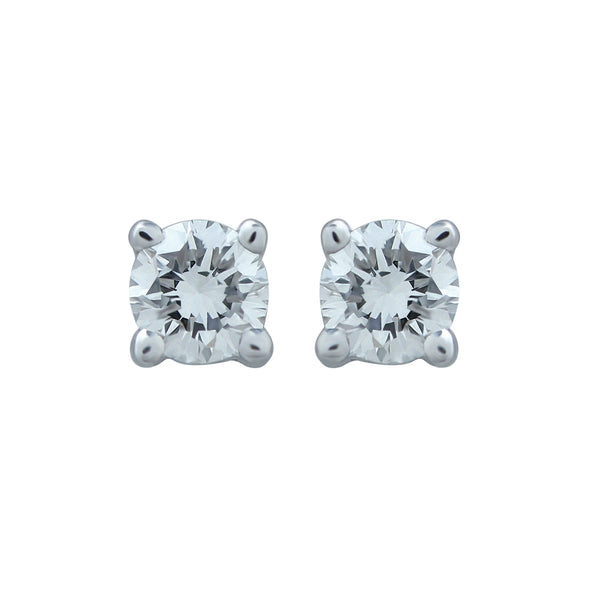 0,20CT, G, VVS2 Diamond Stud Earring
