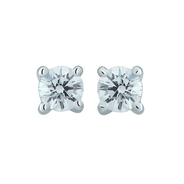 0,25CT, G, VVS2 Diamond Stud Earring