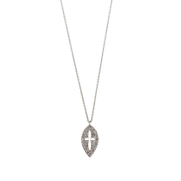 Shield Cross Necklace