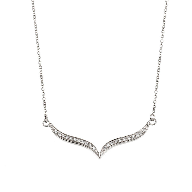 Pointy Bar Necklace