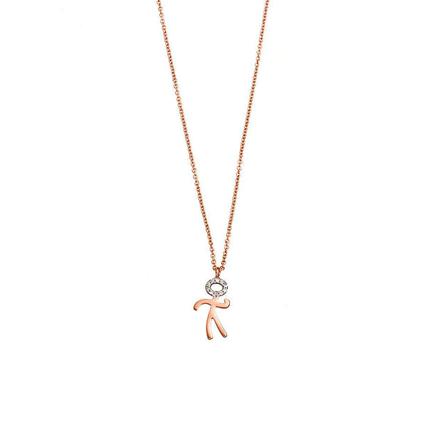Little boy gold necklace