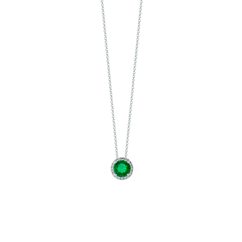 Emerald Circle Necklace