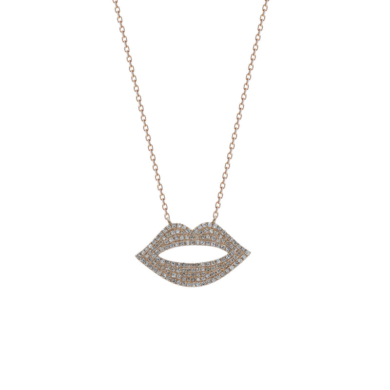 Luscious Lips Necklace
