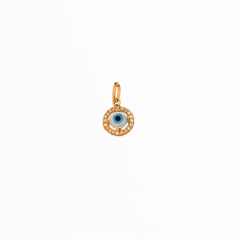 Small MoP Eye Pendant