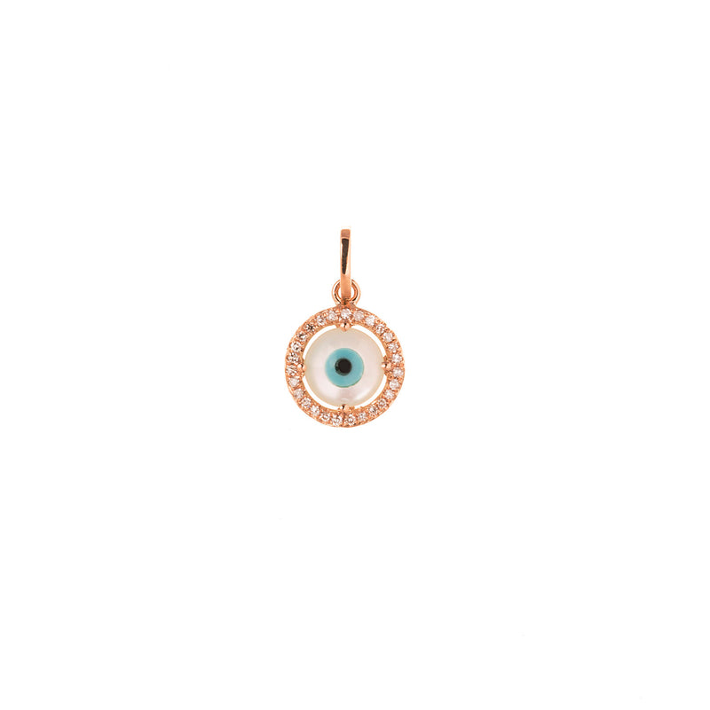 Mother of Pearl Eye Pendant