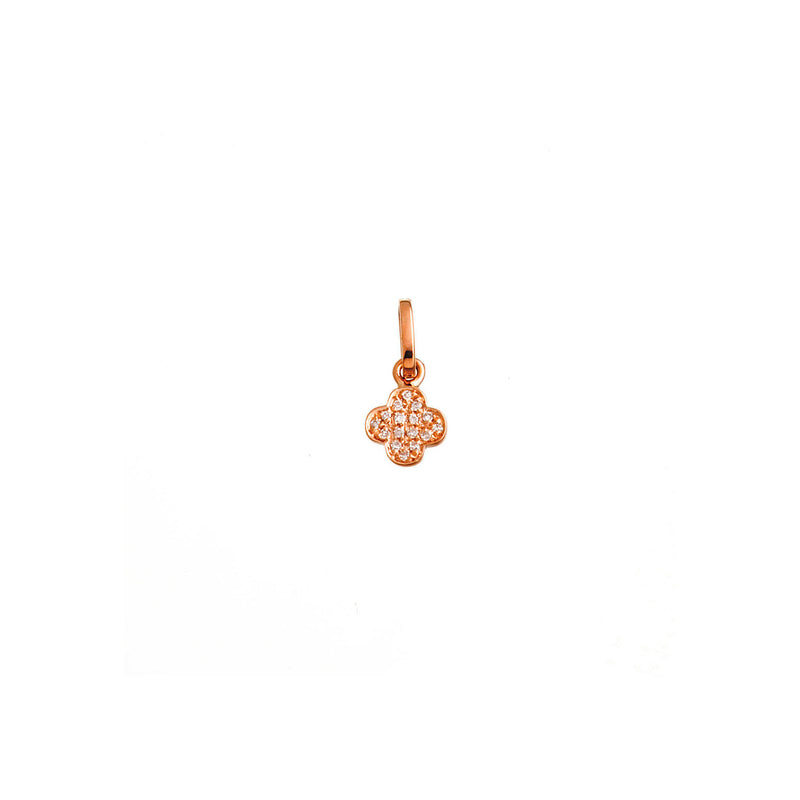 Diamond Mini Cross Pendant