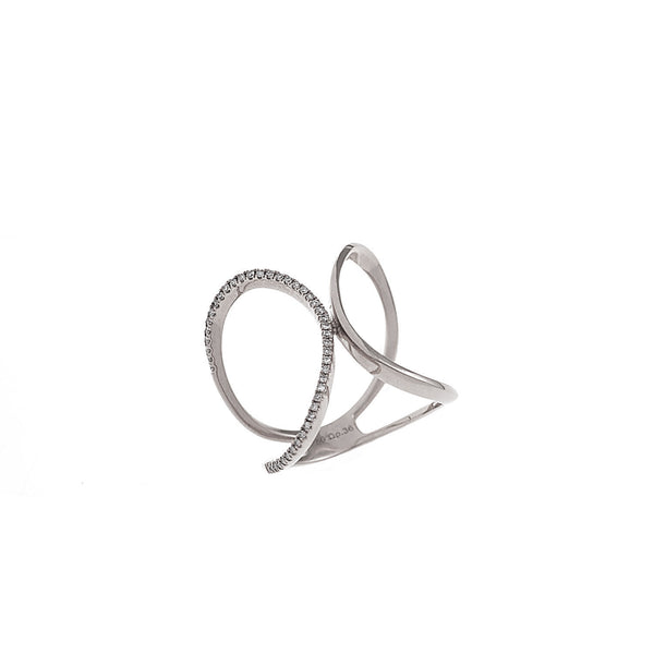 X Curve Ring
