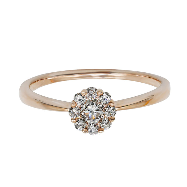 Plain Band Diamond Ring