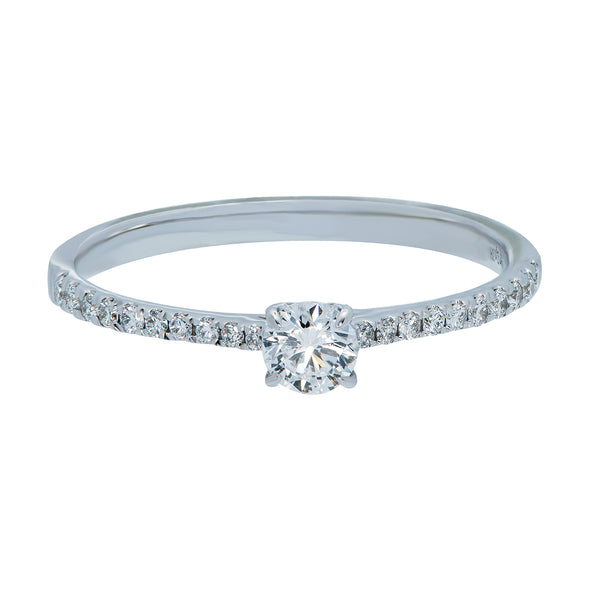 0.15ct Aria Setting Diamond Engagement Ring