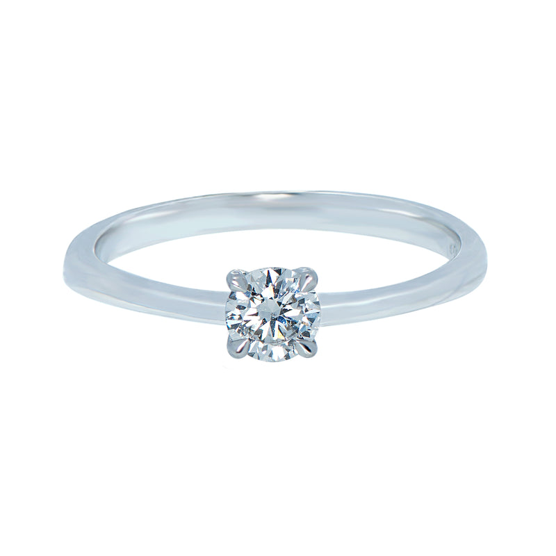 0.15ct Icon Setting Diamond Engagement Ring