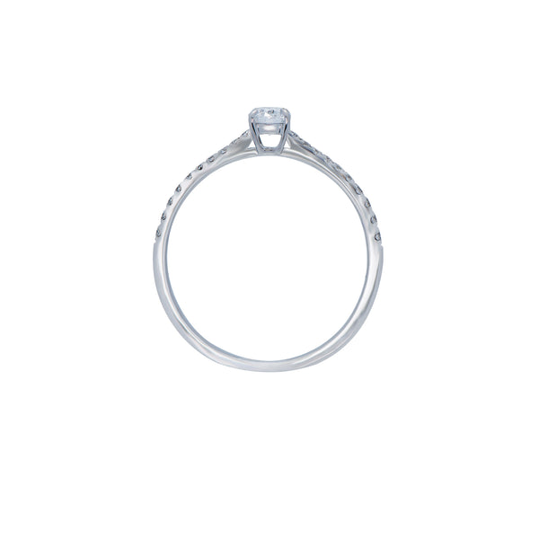 0.18ct Aria Setting Diamond Engagegemt Ring
