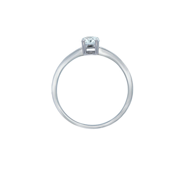 0.18ct Icon Setting Diamond Engagament Ring