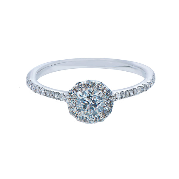 0.20ct Mirage Setting Diamond Engagement Ring