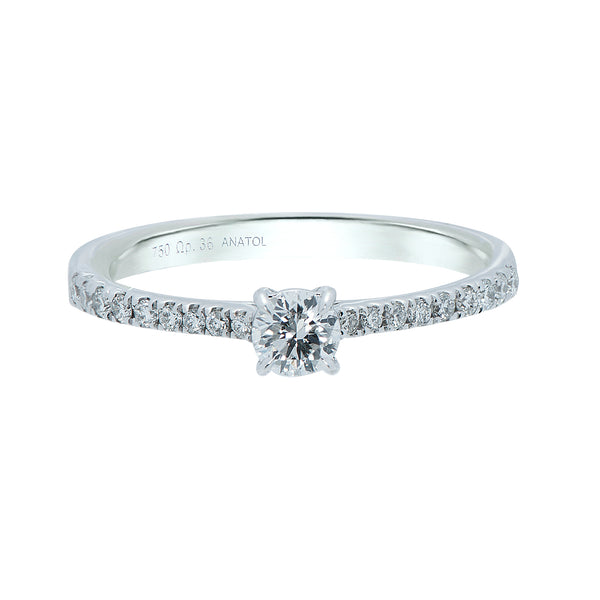 0.20ct Aria Setting Diamond Engagegemt Ring