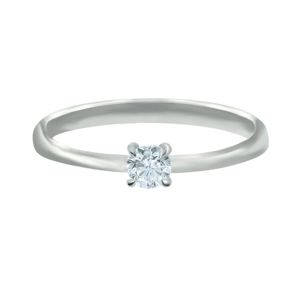 0.20ct Diamond Engagement Ring