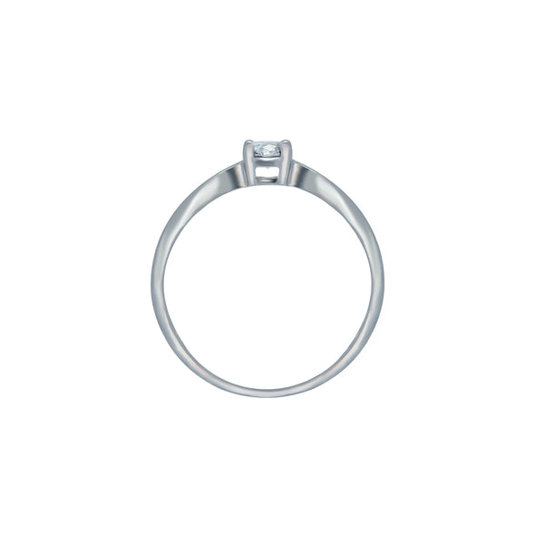 0.20ct Icon Setting Diamond Engagement Ring