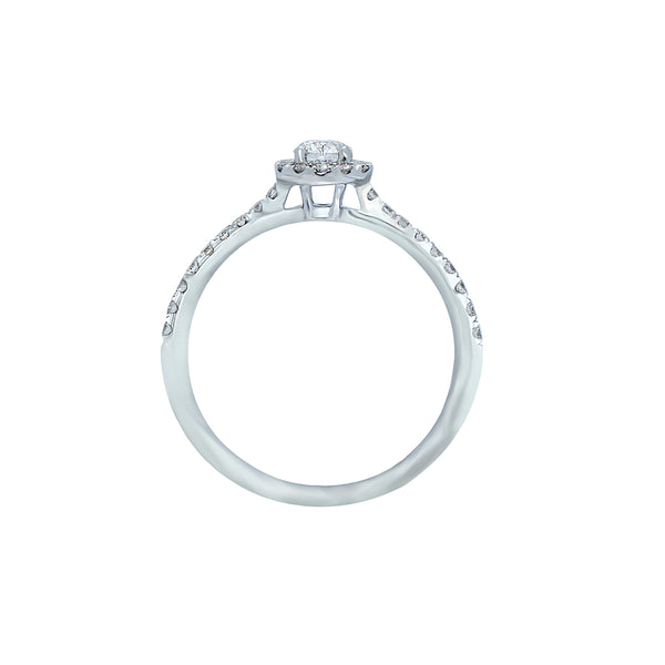 0.25ct Mirage Setting Diamond Engagement Ring