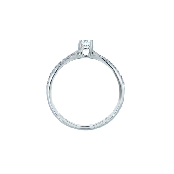 0.25ct Aria Setting Diamond Engagement Ring