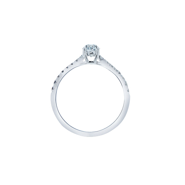 0.30ct Aria Setting Diamond Engagement Ring