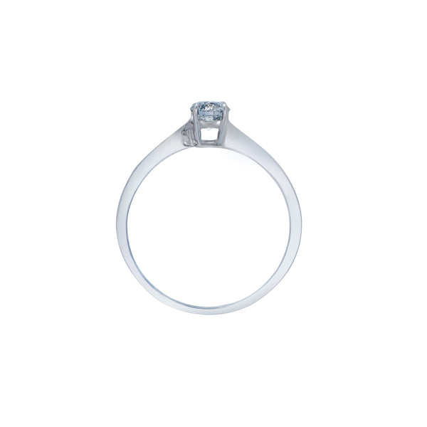 0.30ct Twist Setting Diamond Engagegemt Ring