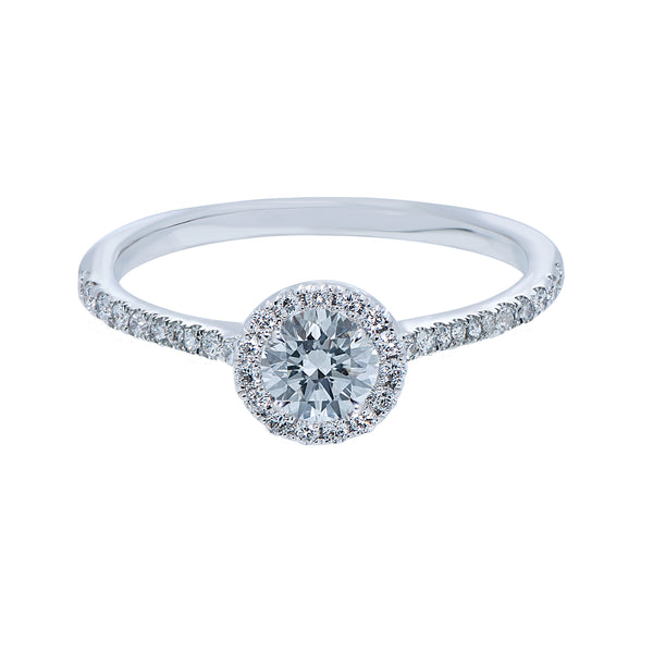 0.30ct Mirage Setting Diamond Engagement Ring
